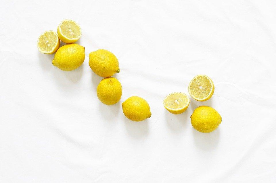 witamina C w cytrynie