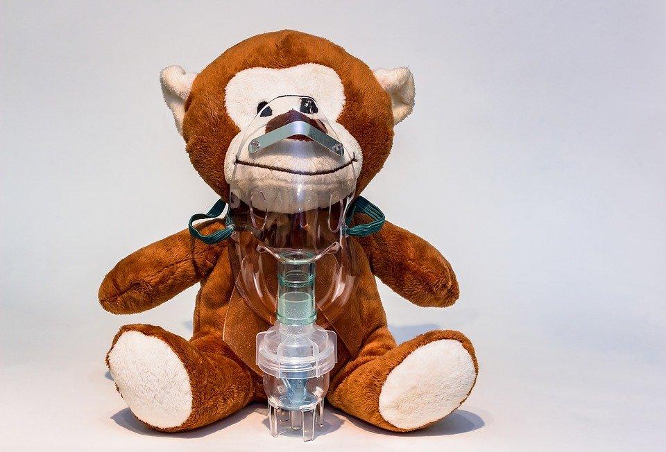 Nebulizacja robiona nebulizatorem