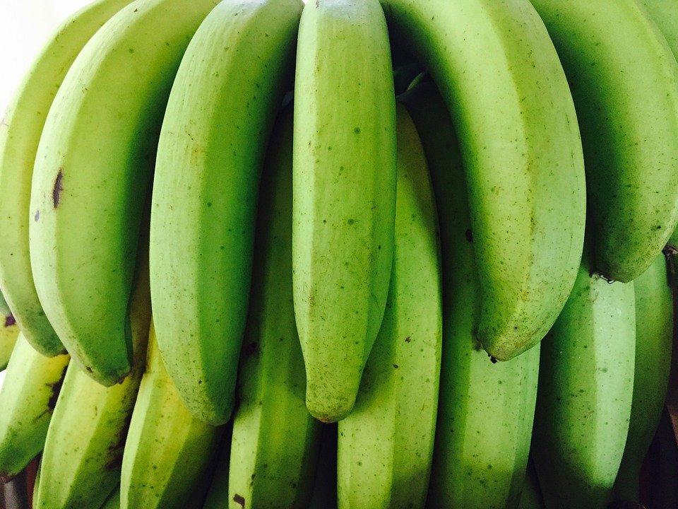źródło potasu w bananach