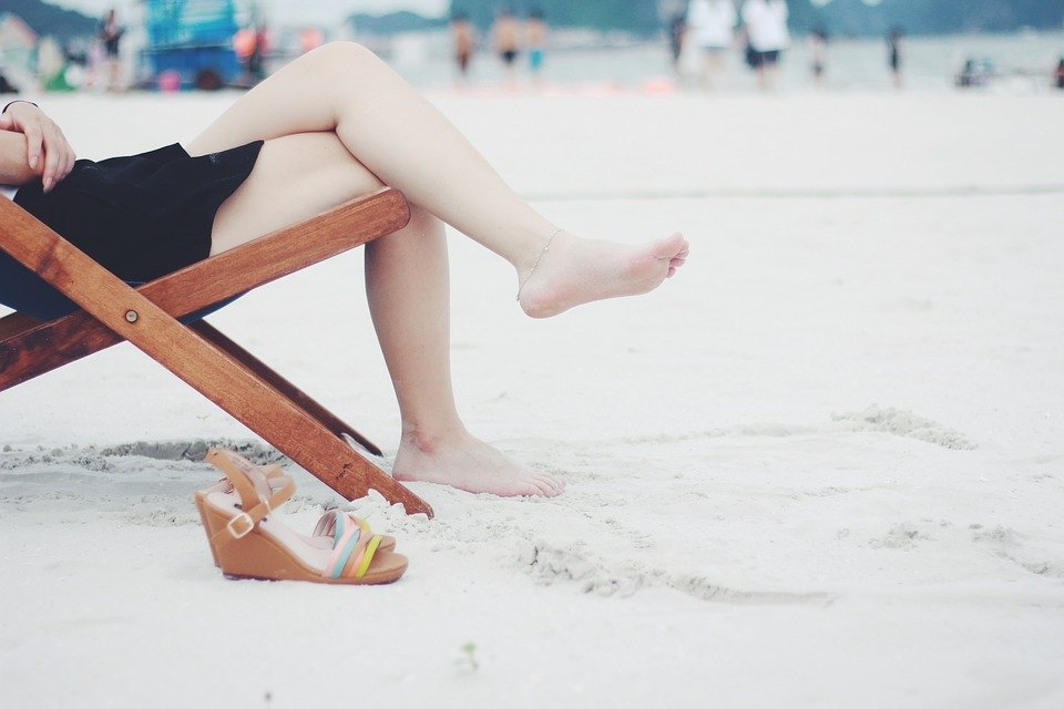 nogi z żylakami